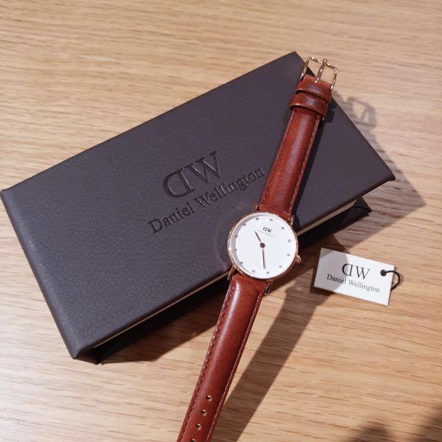 聖誕禮物* 絕版款DW手錶