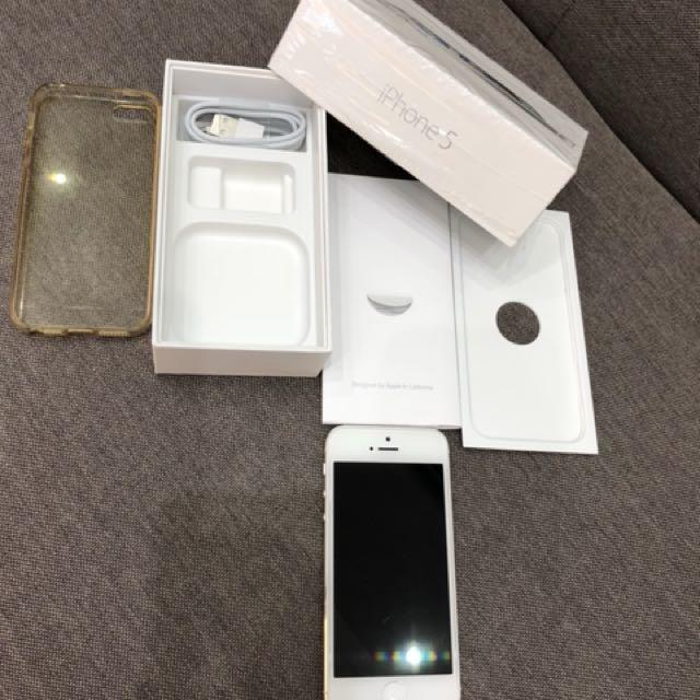 [出售] I Phone 5 16G 銀