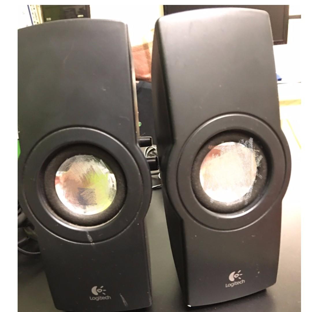 羅技 Logitech R-5 電腦喇叭