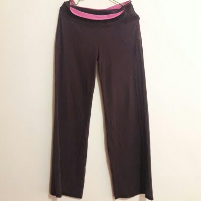 Adidas Climacool系列紫色運動長褲