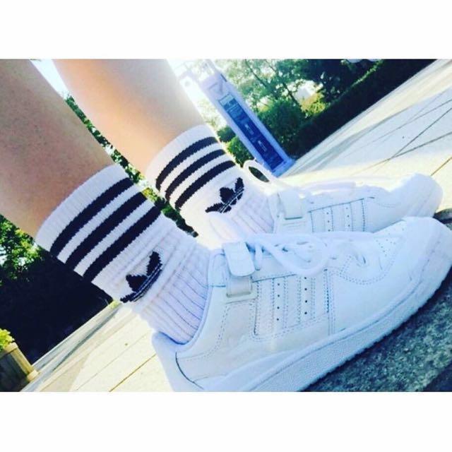 Adidas forum 白鞋 金裕貞著用款