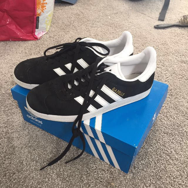 ADIDAS gazelle black shoes