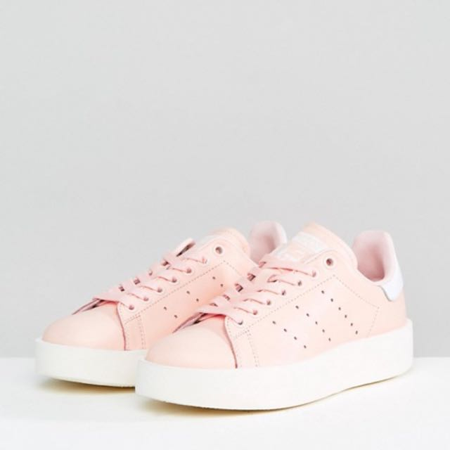 Adidas Stan Smith Bold Pale Pink