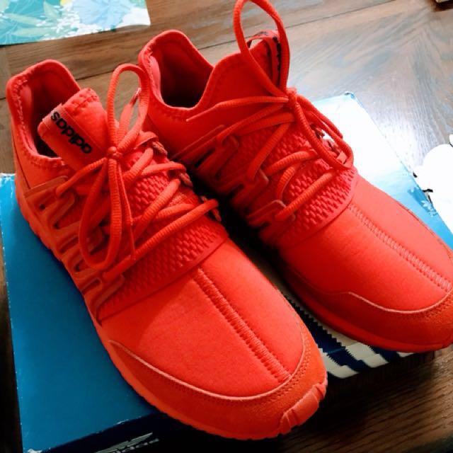 "newest acb98 dba15 Adidas Tubular Radial ""Triple Red"""