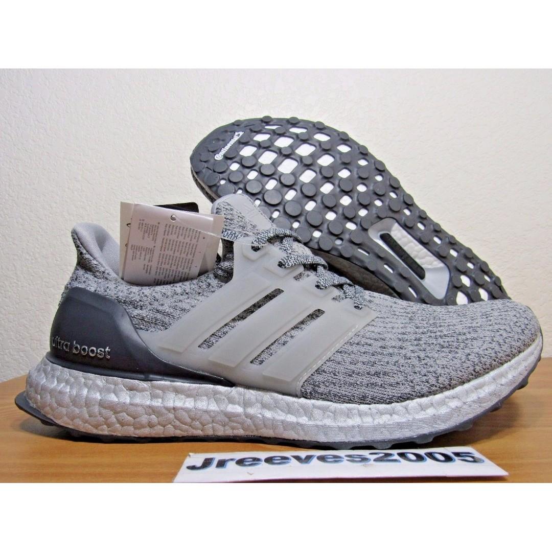 db4f6079870d0 Adidas Ultra Boost 3.0 Silver Pack Sz 10 100% Original