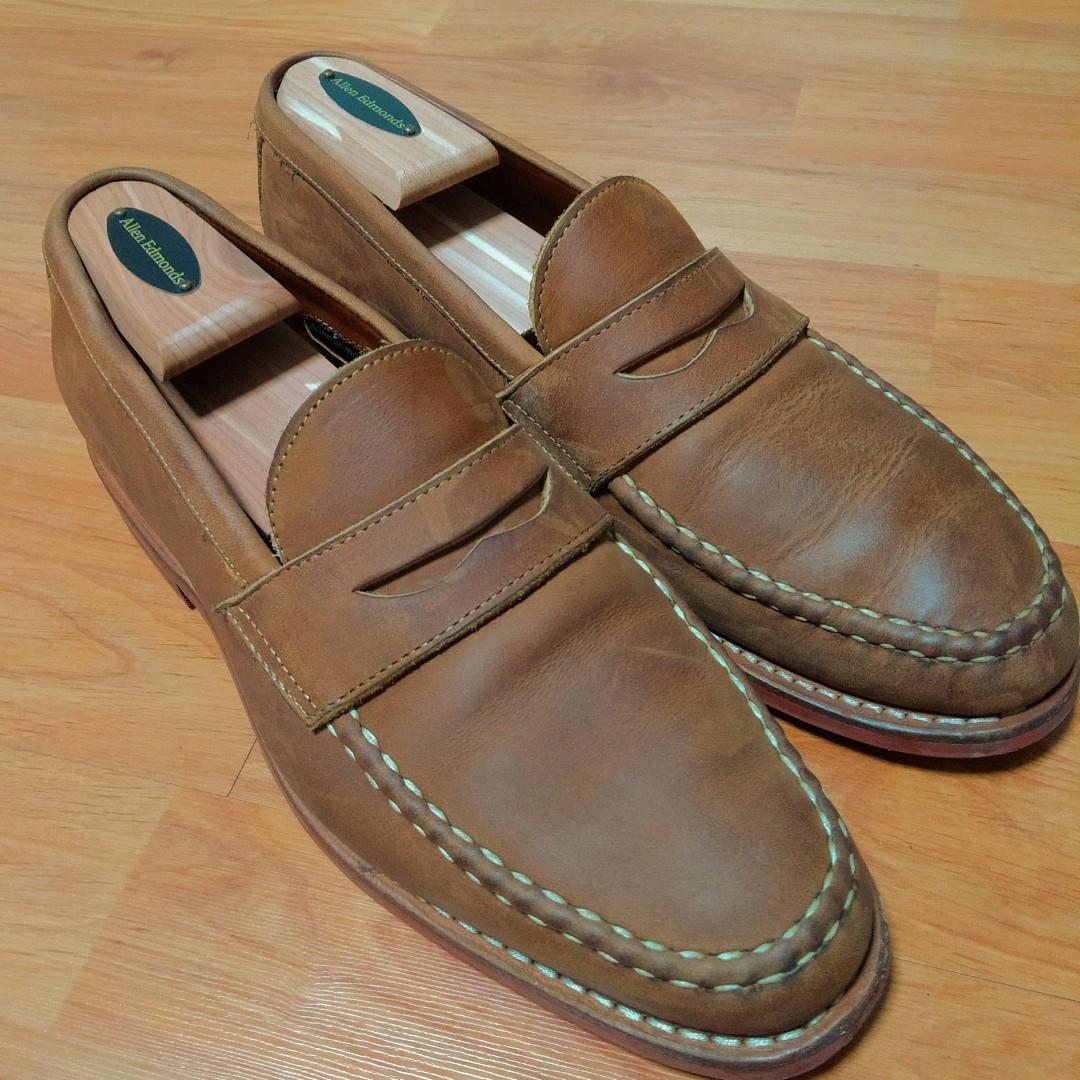 e43818df7b0 Allen Edmonds Addison Leather Penny Loafer Size 8D