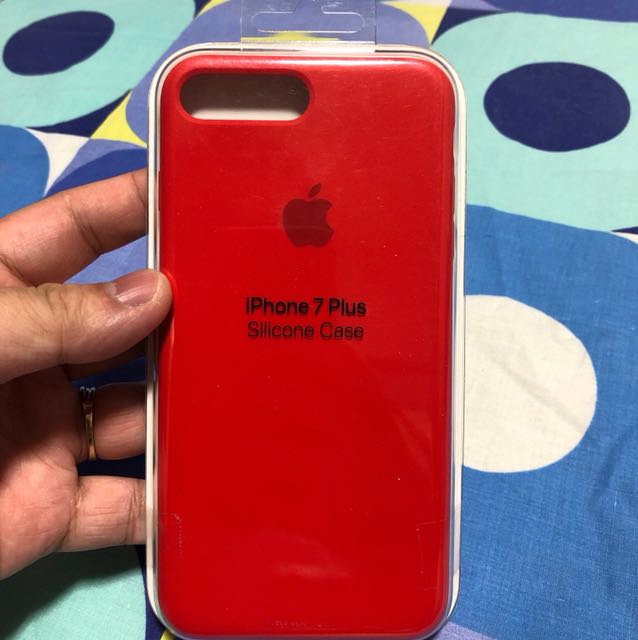 buy online 307ce 70686 Apple iPhone 7 Plus/8 Plus silicone case (Product Red)