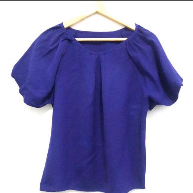 Atasan Biru / Blue Top