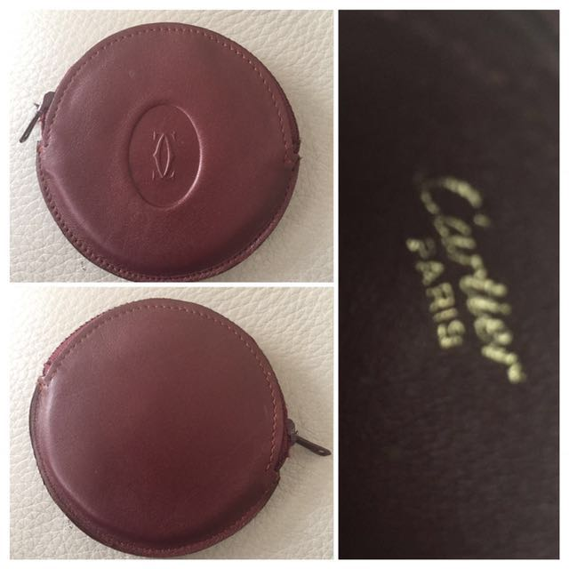Authentic Cartier Coin Purse