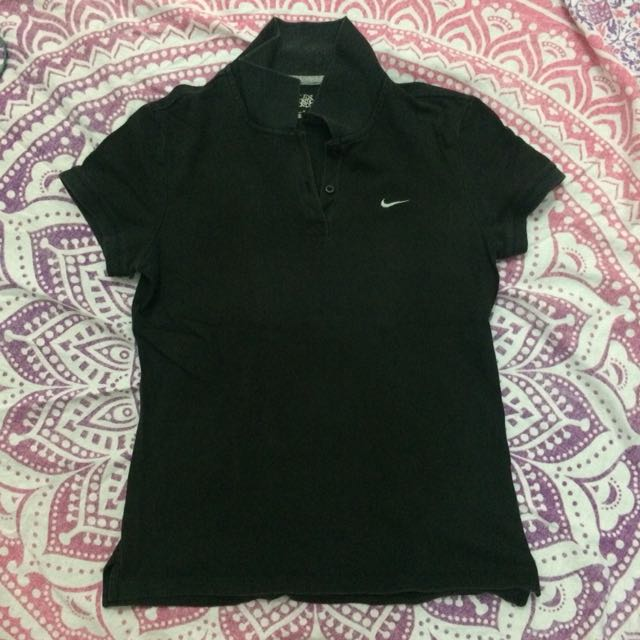 Authentic Faded Nike Poloshirt