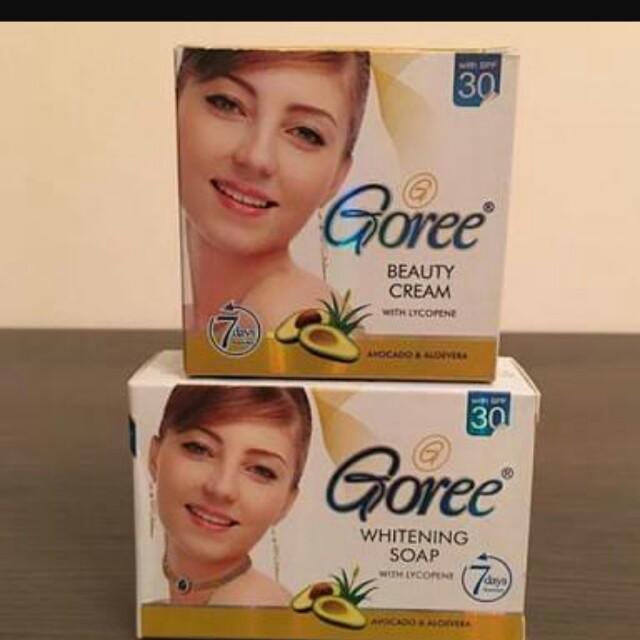 Authentic Goree soap/cream/lotion 😄