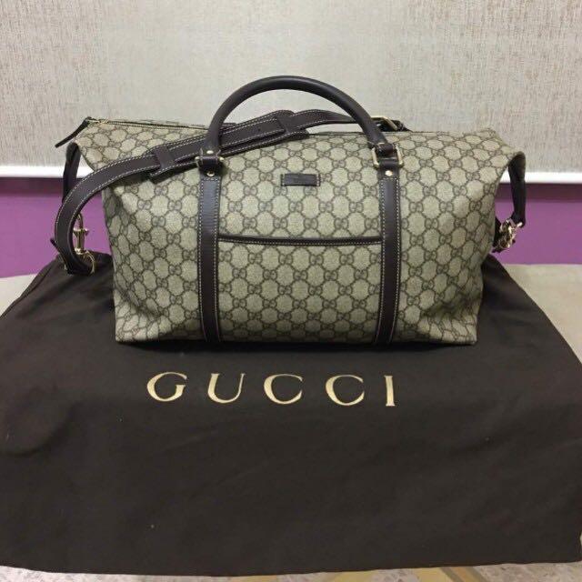 Gucci Travel Gym Bag