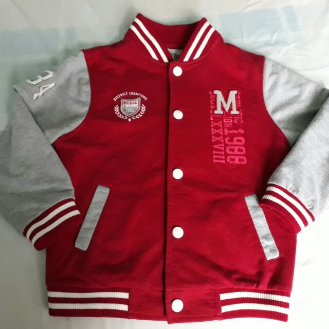 Authentic Moose Gear Varsity Jacket