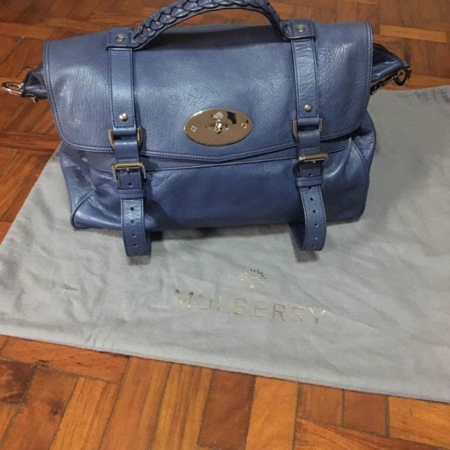 c45cefcdeee ... coupon code for authentic mulberry alexa in slate blue luxury bags  wallets on carousell d1047 c79c8