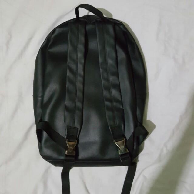 Bagpack semi leather