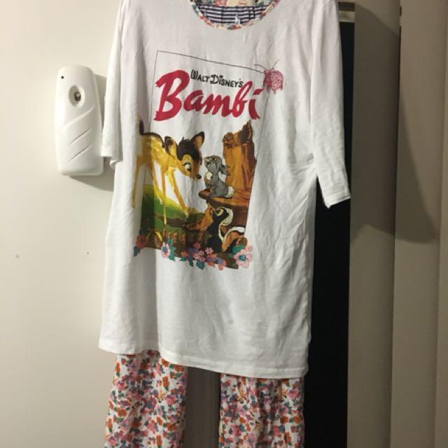 Bambi pj sets size 16
