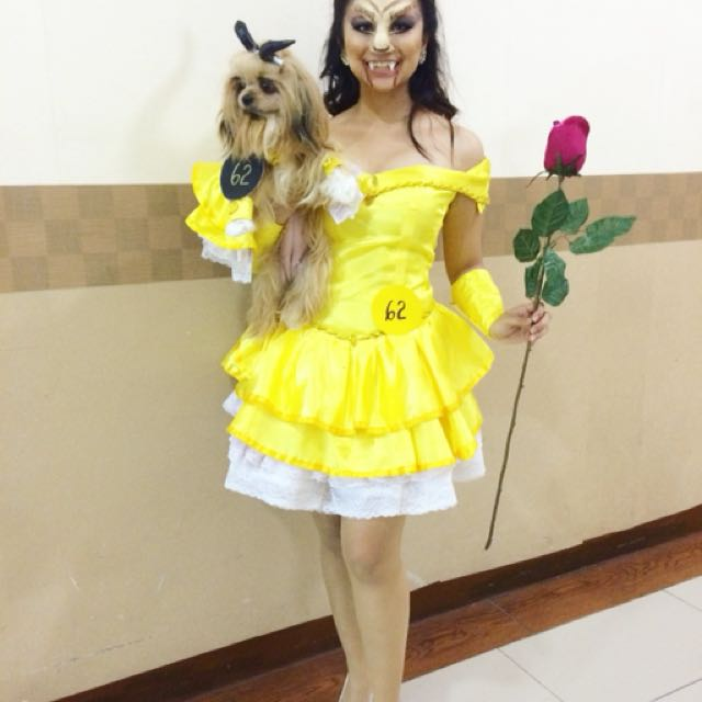 Belle duo costume