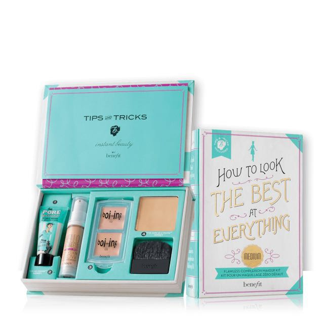 Benefit How To Look The Best At Everything Medium - flawless complexion makeup kit