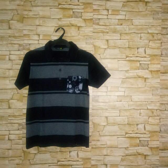 Black Polo Shirt Bum