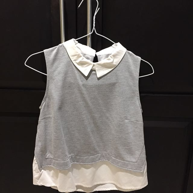 Blouse grey size S