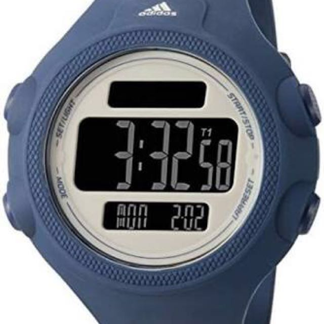 Blue Adidas Performance Questra watch