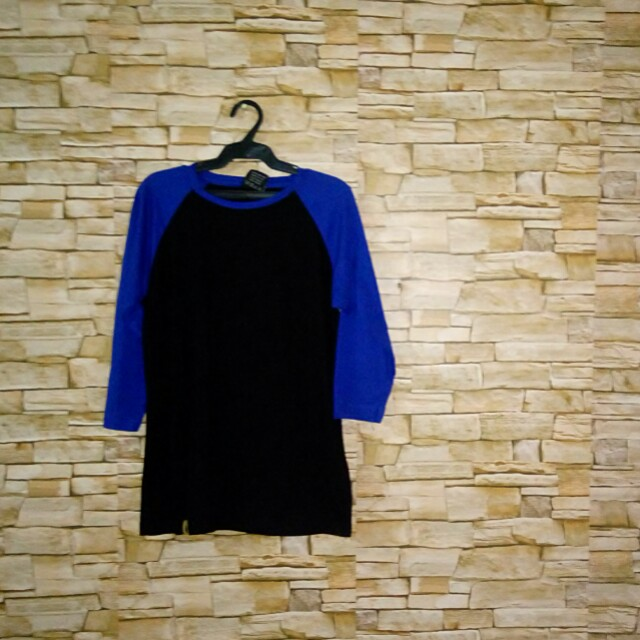 Blue Black 3/4ths