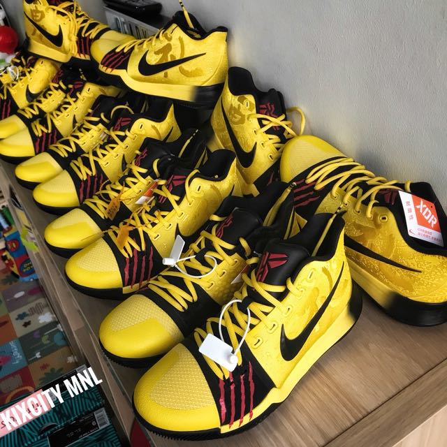 new concept def84 9f0d4 Brand new: Kyrie Irving X mamba X bruce lee, Men's Fashion ...