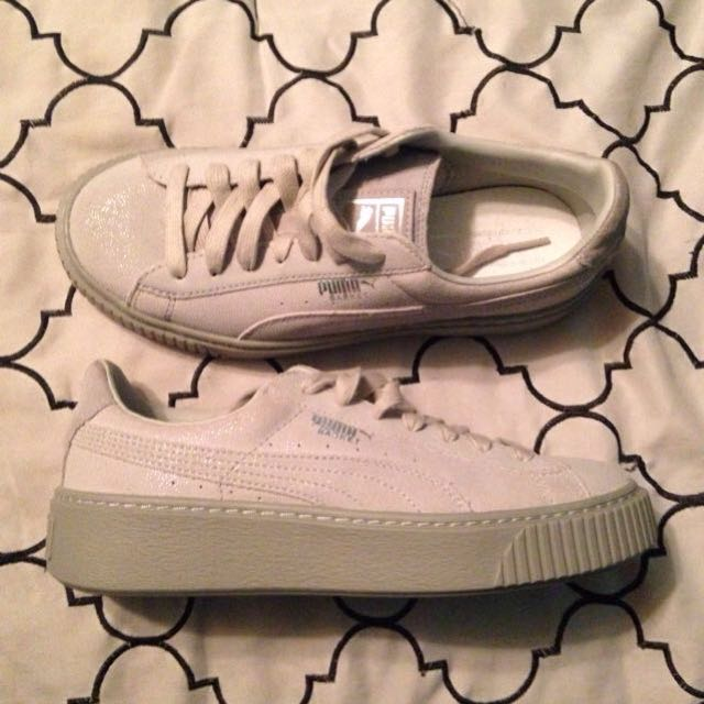 Brand New Puma Basket Size 7.5 Women