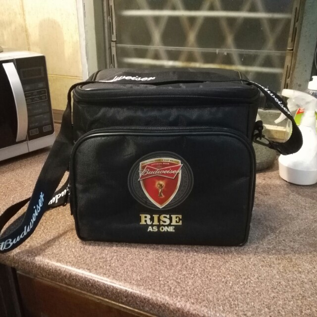 Budweiser cooler bag