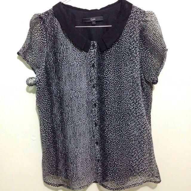 B&W blouse by Cole