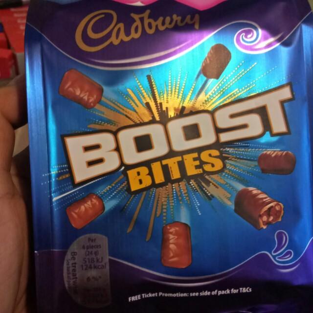 Cadbury boost bite