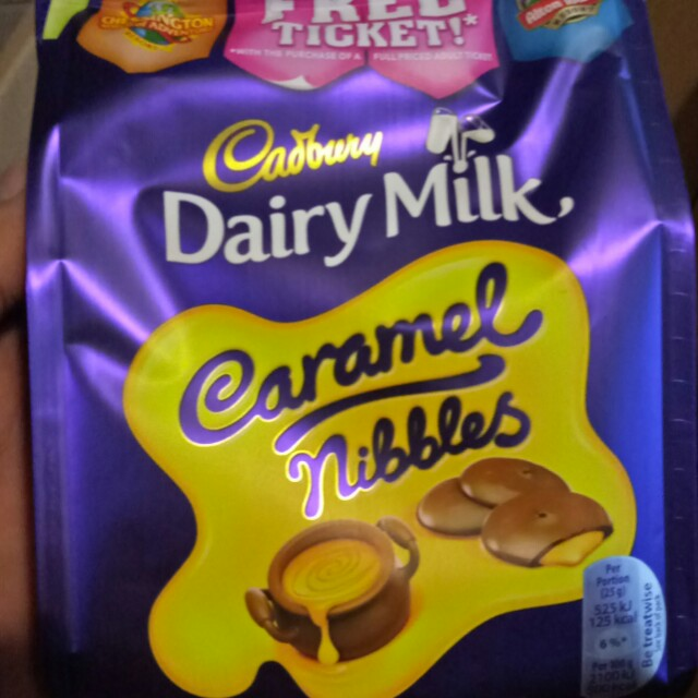 Cadbury Dairy Milk Caramel Nibbles