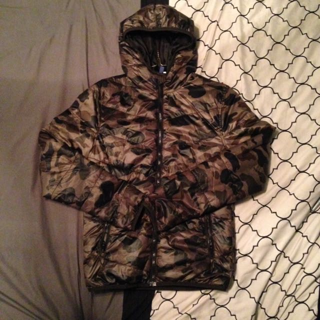 Camo Wind Breaker Size Men's XS