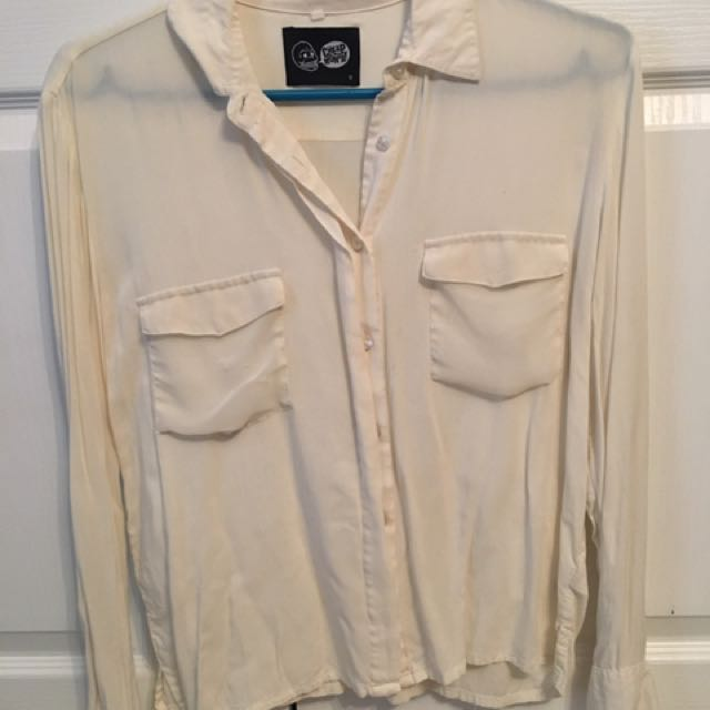 Cheap Monday button up blouse