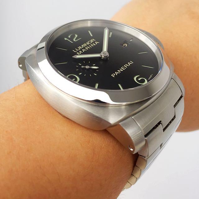 SOLD ] Panerai Luminor PAM 328, Luxury, Watches on Carousell