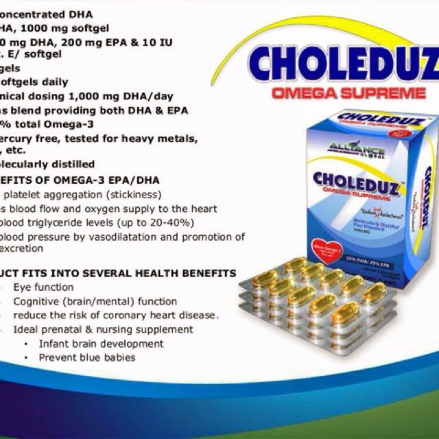 Choleduz Food Supplement ( Organic )