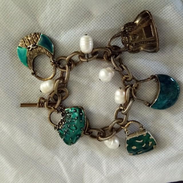Coach Bracelet in vintage design