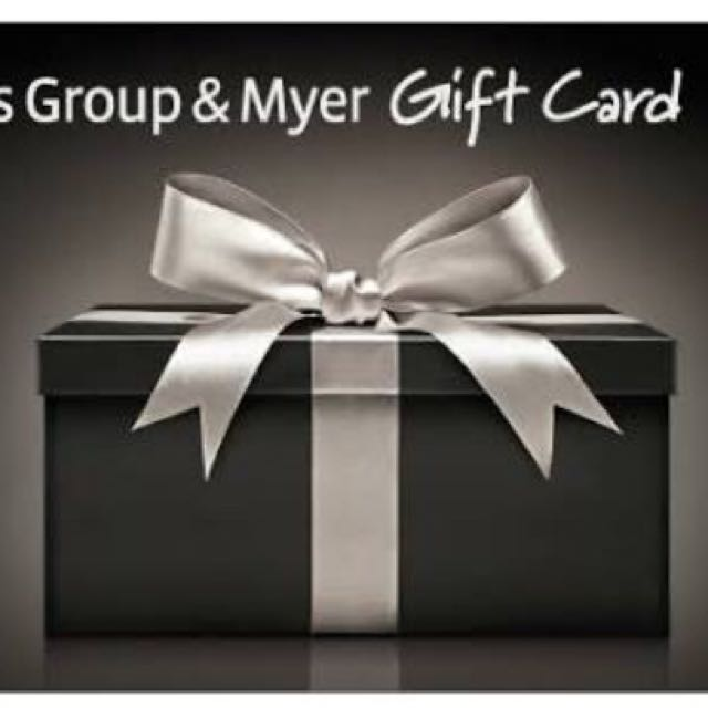 Coles Myer Gift Card