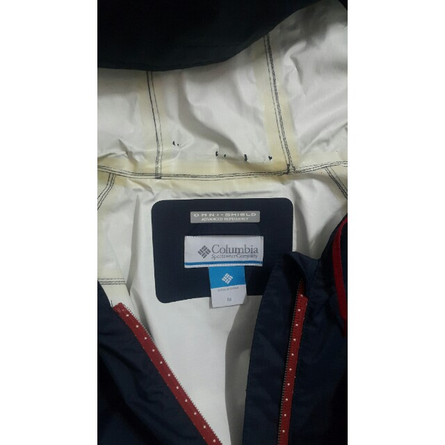 Columbia 防水風衣外套 size :M