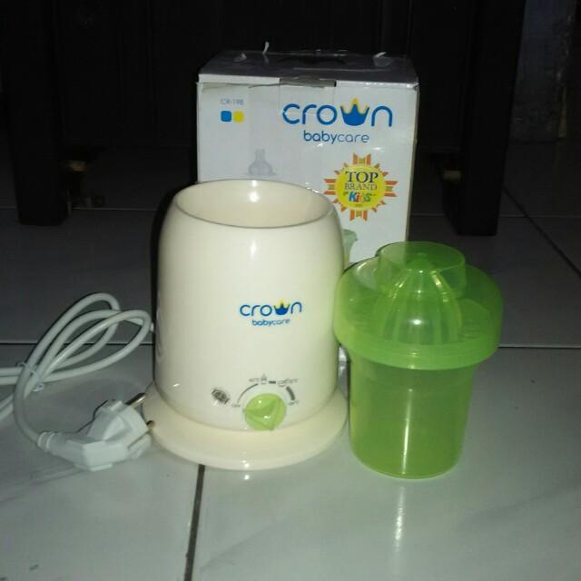 Crown pemanas susu
