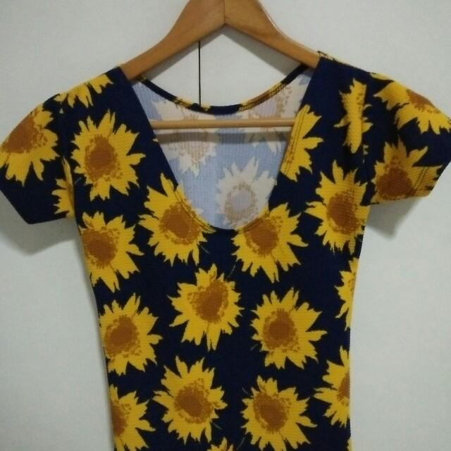 Cute Sunflower top