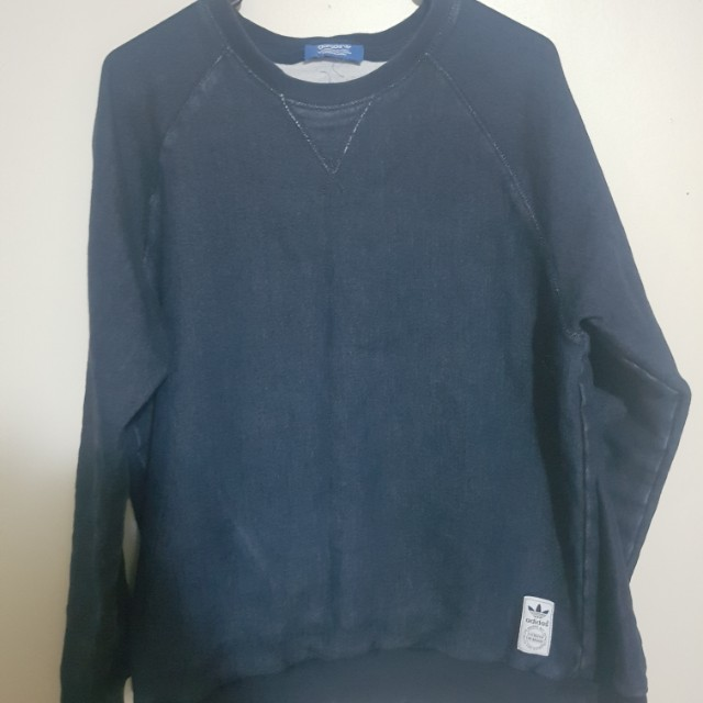 Denim adidas jumper
