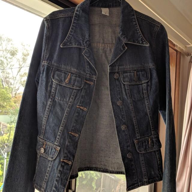 Denim jacket size 10