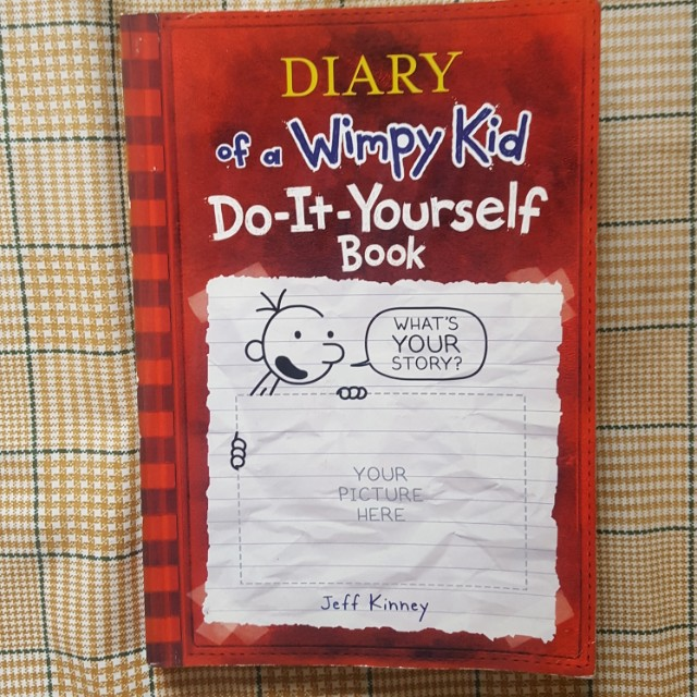 Diary of a wimpy kid do it yourself book books books on carousell photo photo photo solutioingenieria