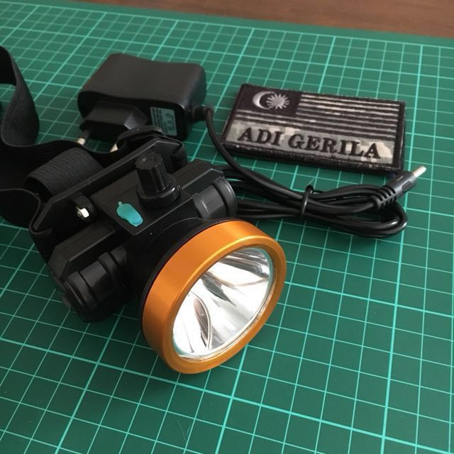 Dimmer Rechargeable Headlamp