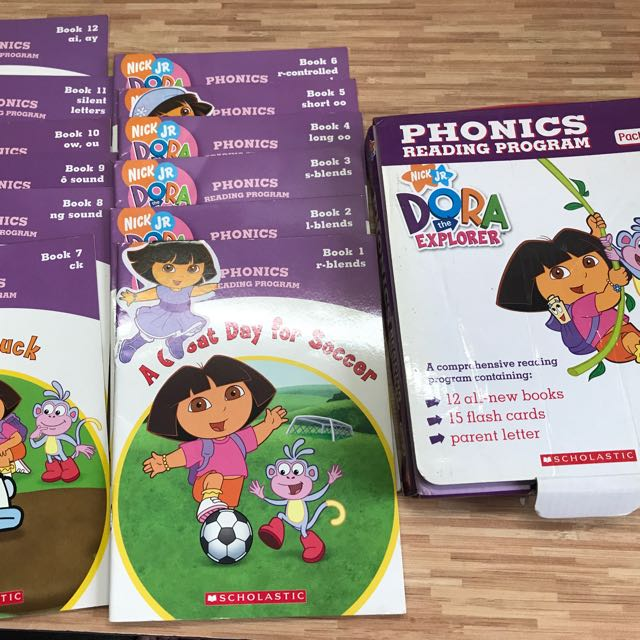 dora the explorer phonics reading books books stationery
