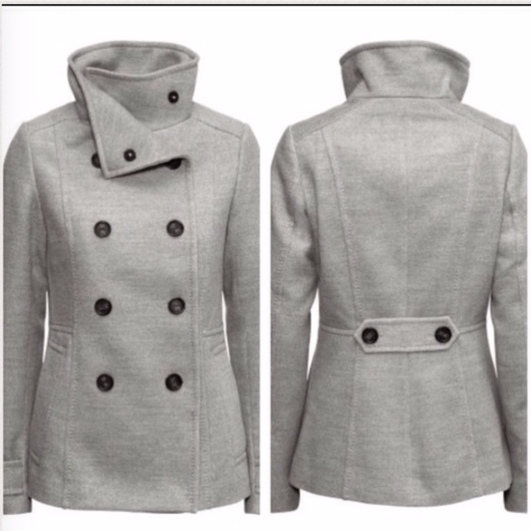 Double Breasted Jacket H&M