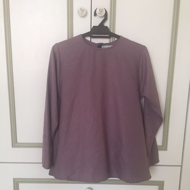 Dusty Purple Blouse