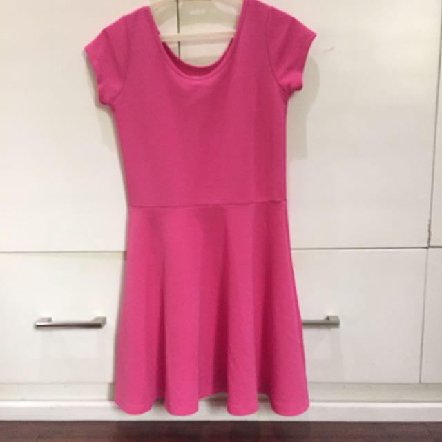Ever21 pink dress