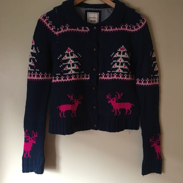 F21 Knitted Jacket